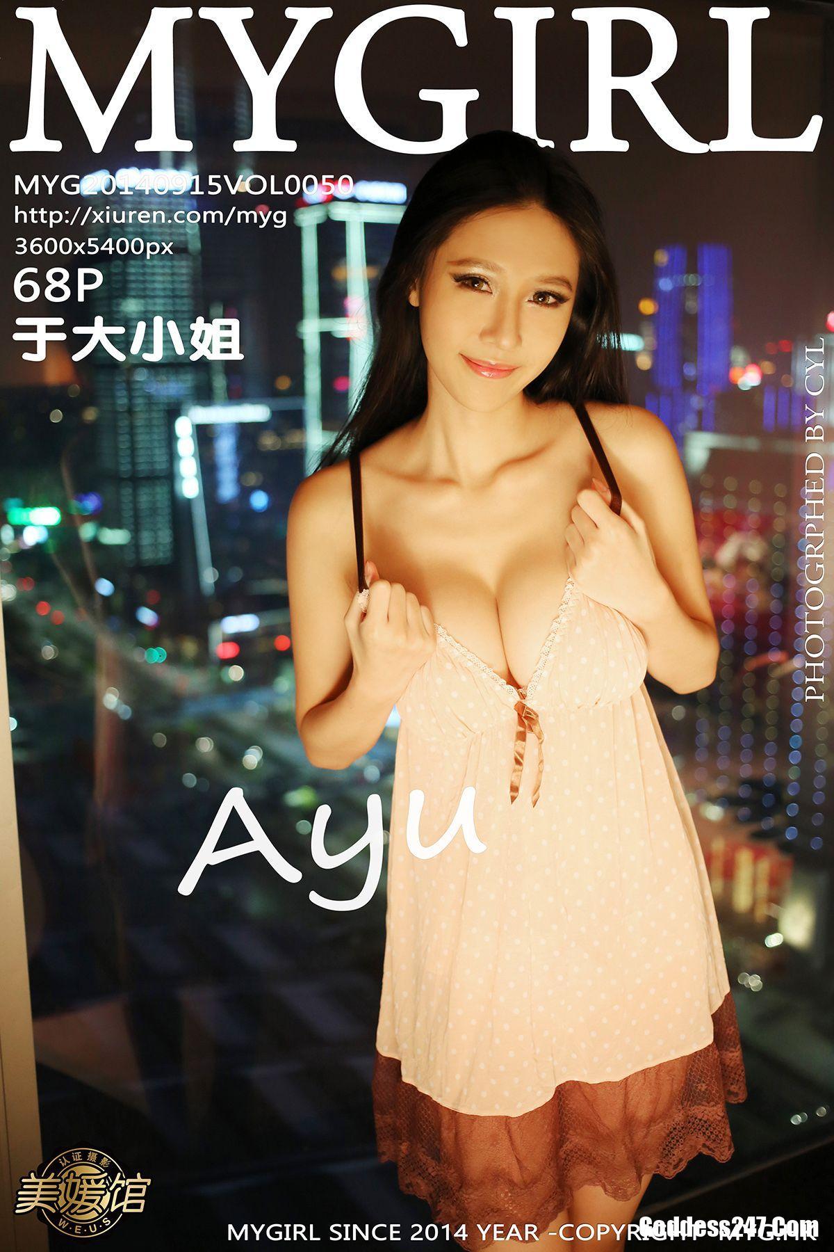 MyGirl Vol.050 于大小姐AYU