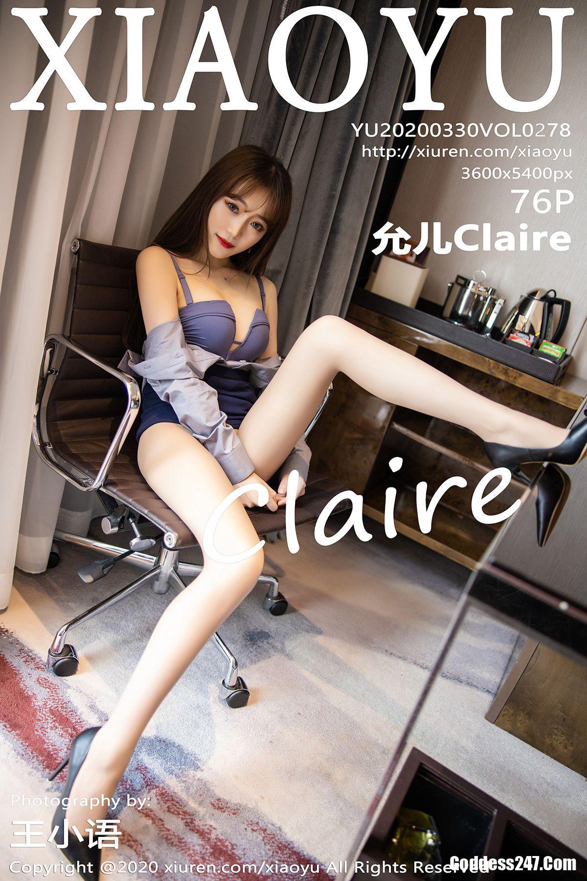 XiaoYu Vol.278 允儿Claire