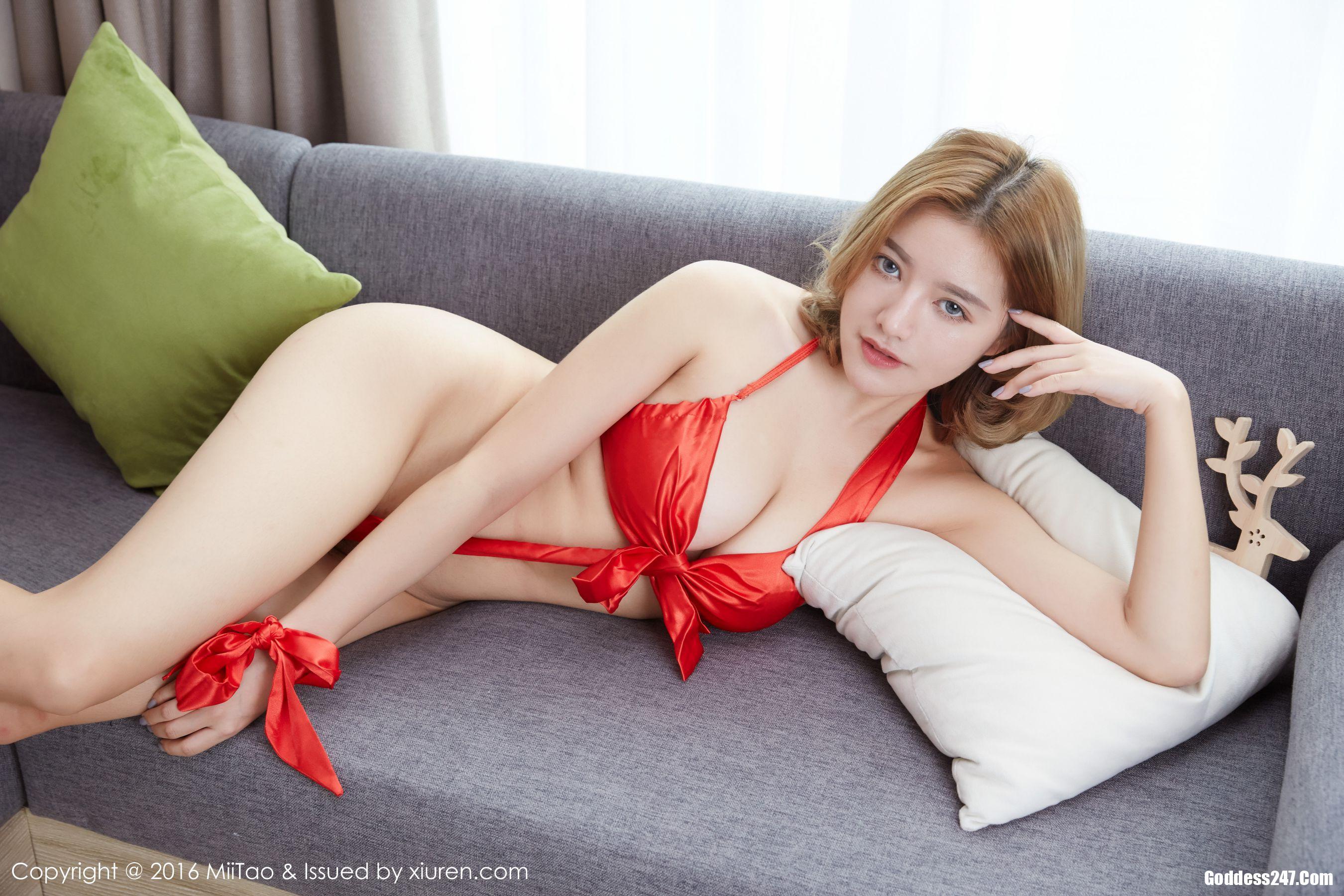 [MiiTao]蜜桃社 2016-12-29 Vol.044 Vika 制服-明星秀女-写真美图xzmeitu