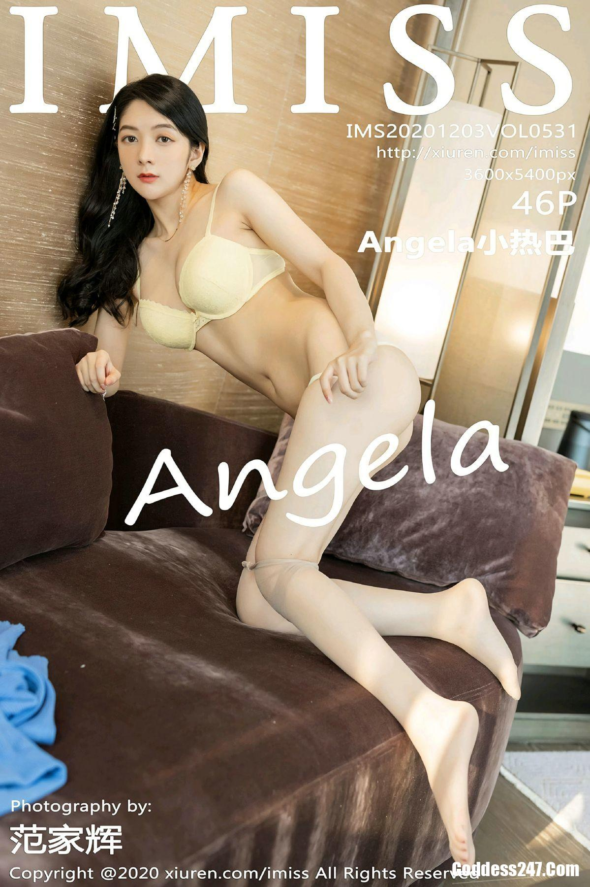 IMiss爱蜜社 Vol.531 Angela小热巴