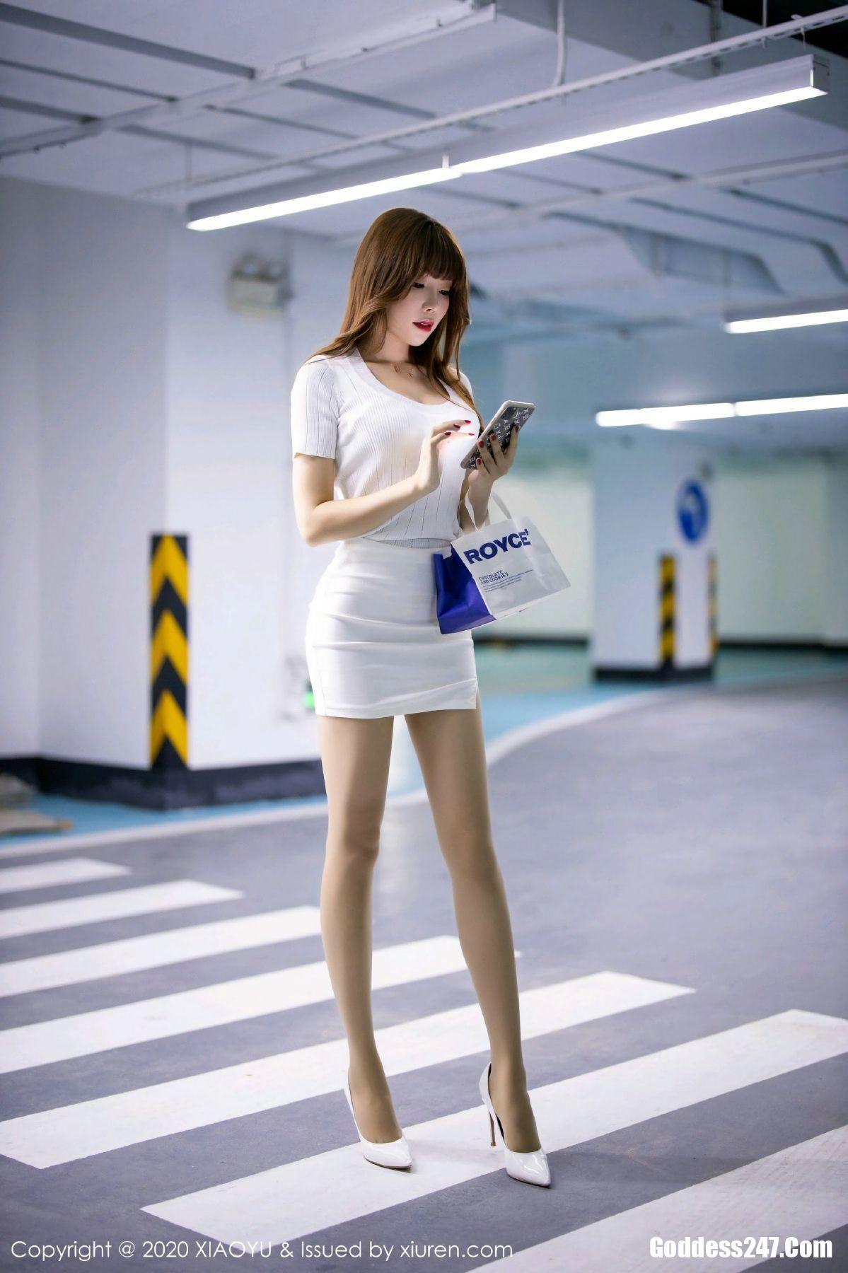娇妍_XiaoYu语画界 No.432 芝芝Booty - Goddess247