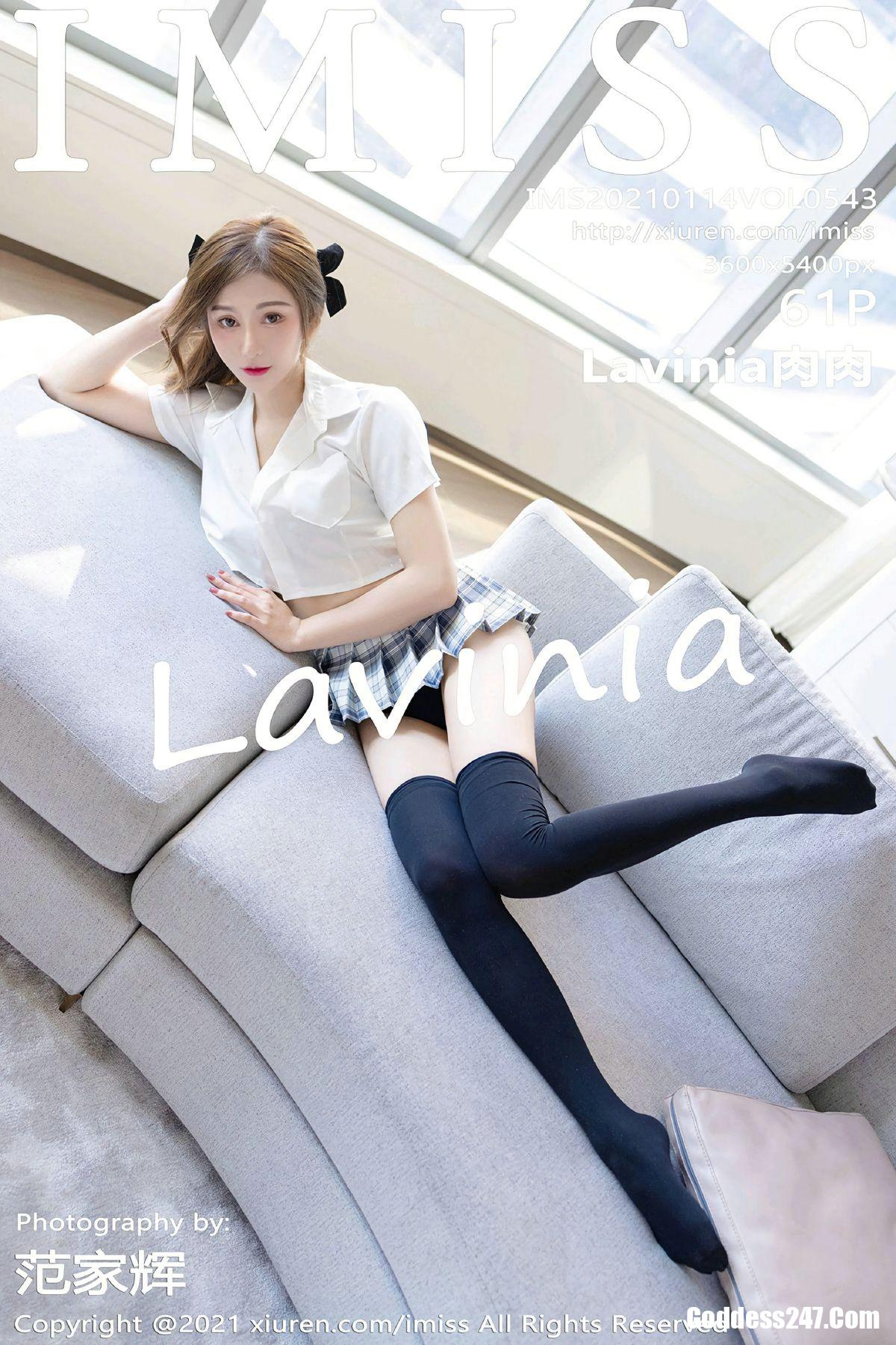 IMiss爱蜜社 Vol.543 Lavinia肉肉