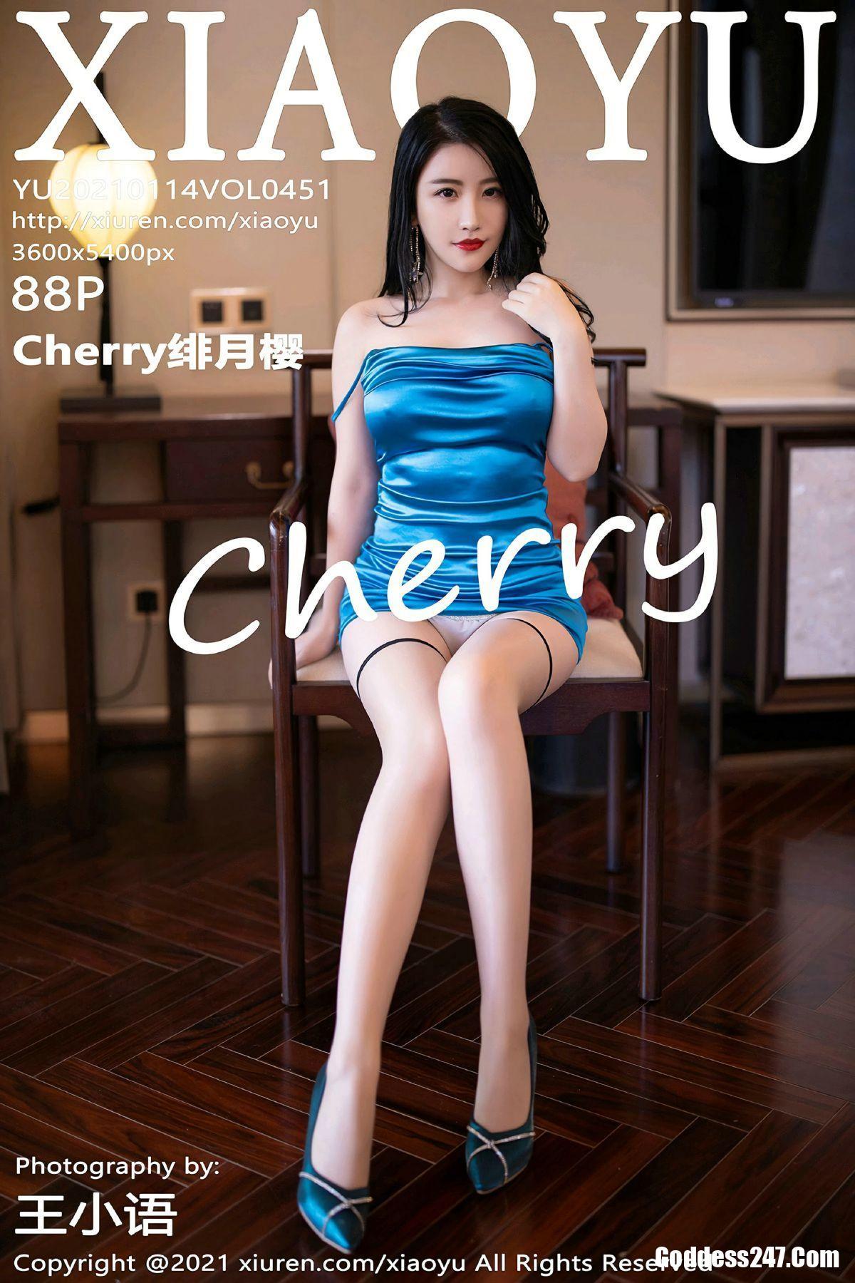 XiaoYu语画界 No.451 绯月樱-Cherry