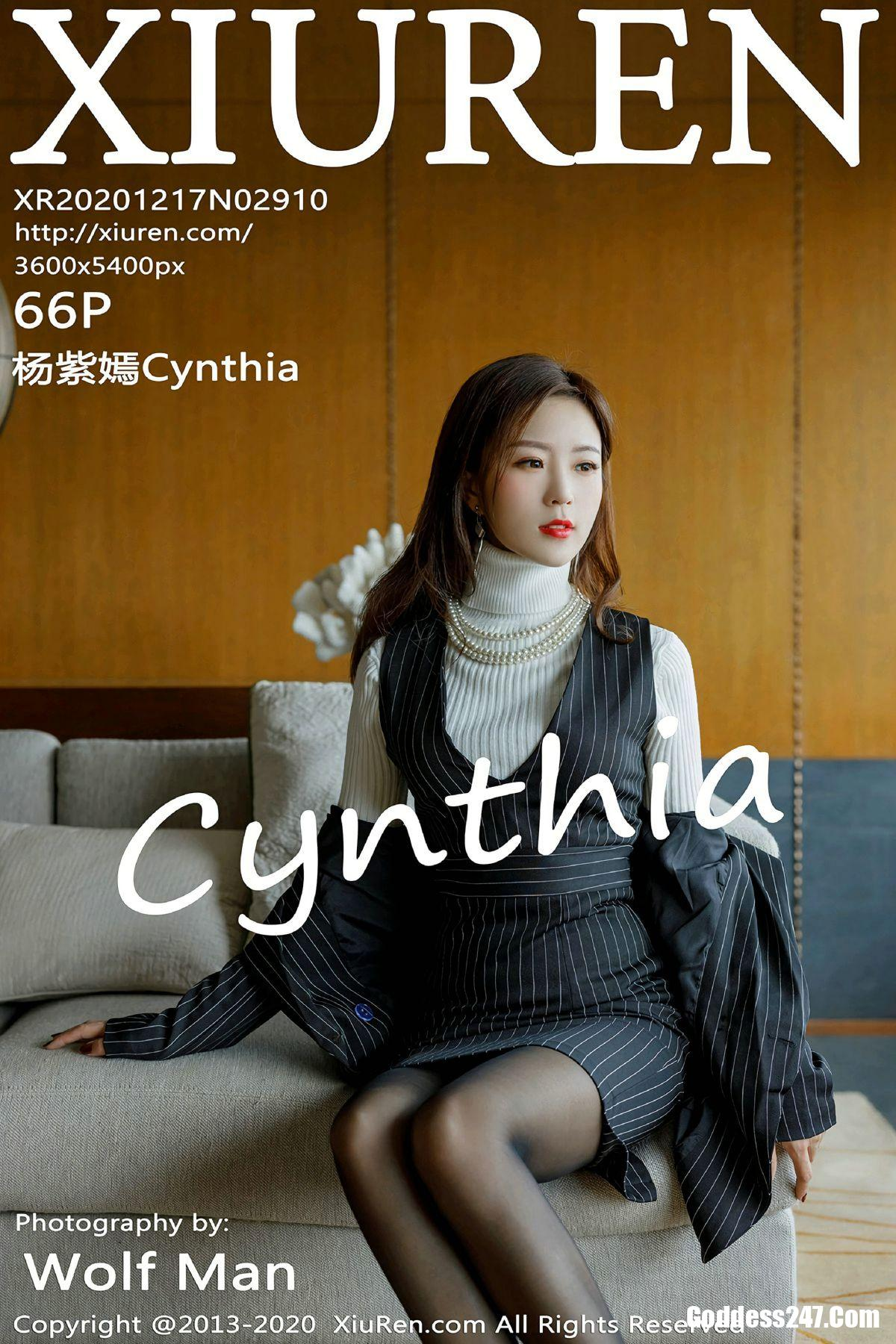 XiuRen秀人网 No.2910 杨紫嫣Cynthia
