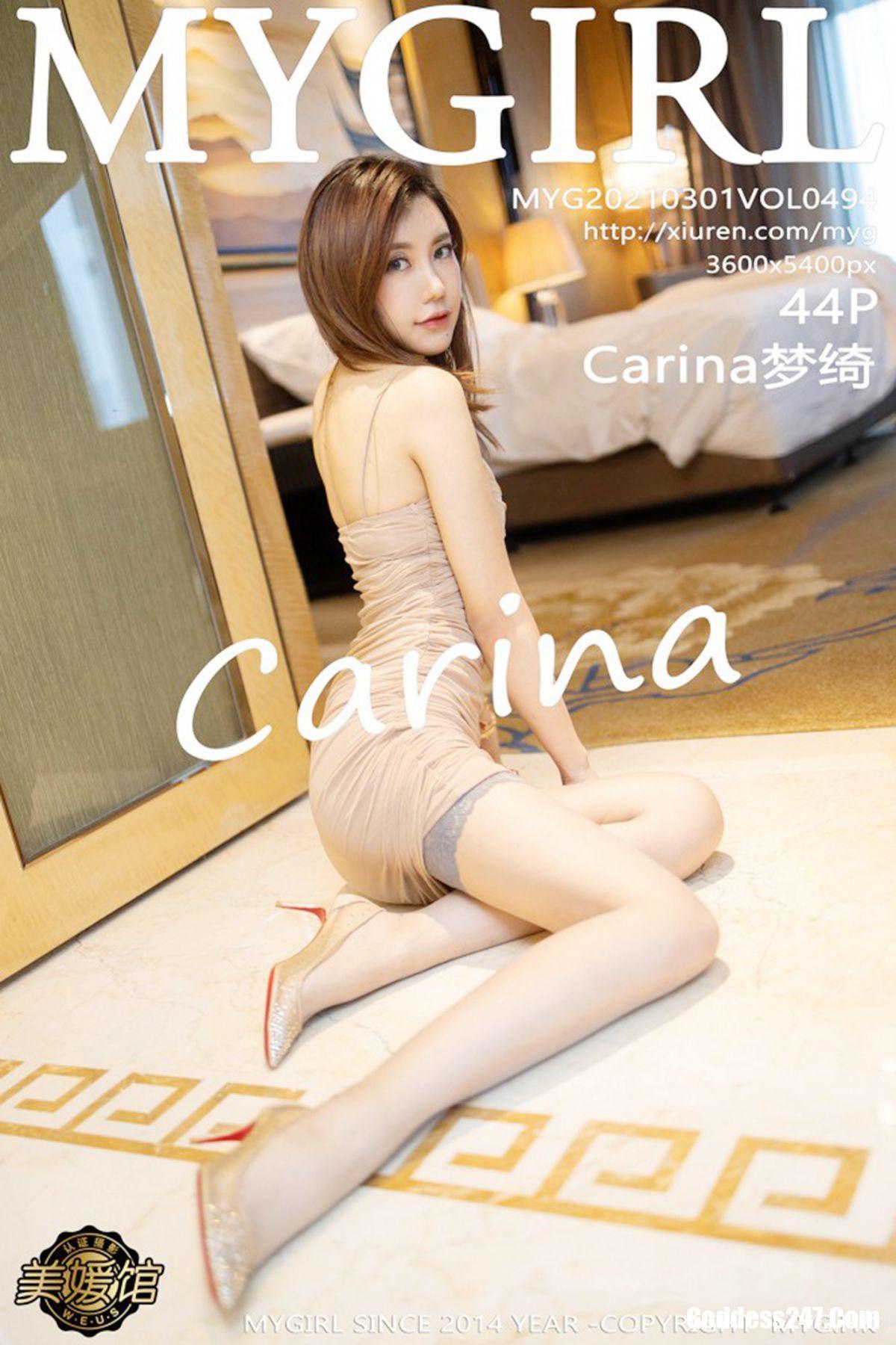 MyGirl美媛馆 Vol.494 Carina梦绮