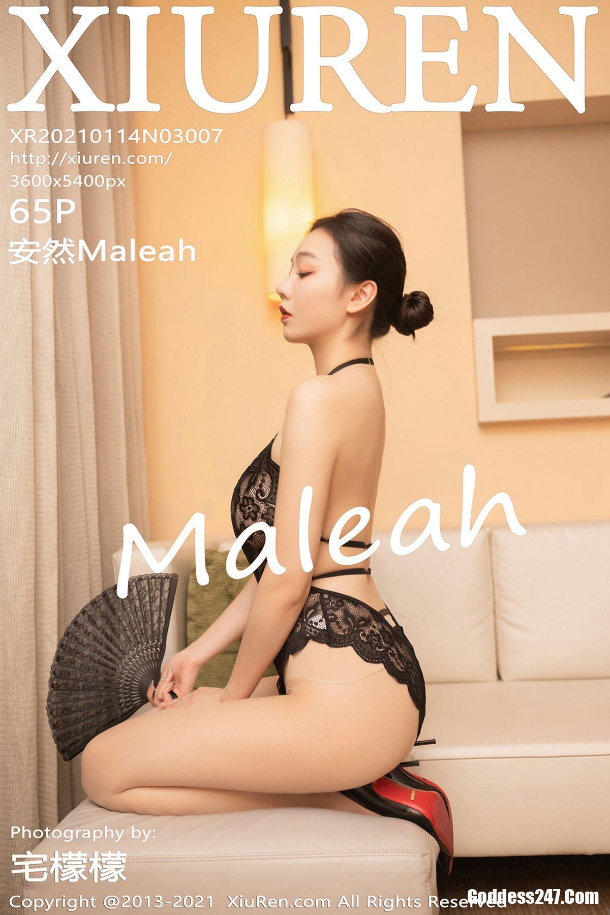XiuRen秀人网 No.3007 安然Maleah