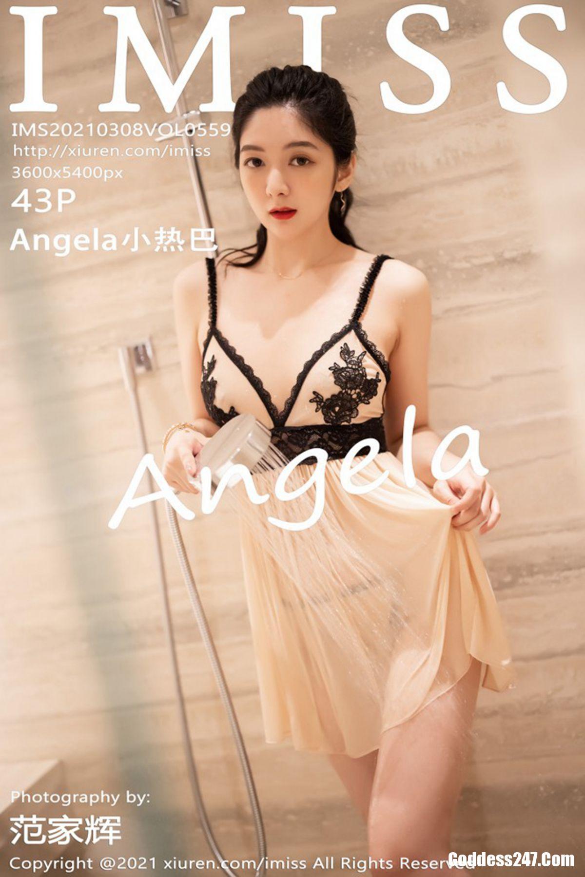IMiss爱蜜社 Vol.559 Angela小热巴