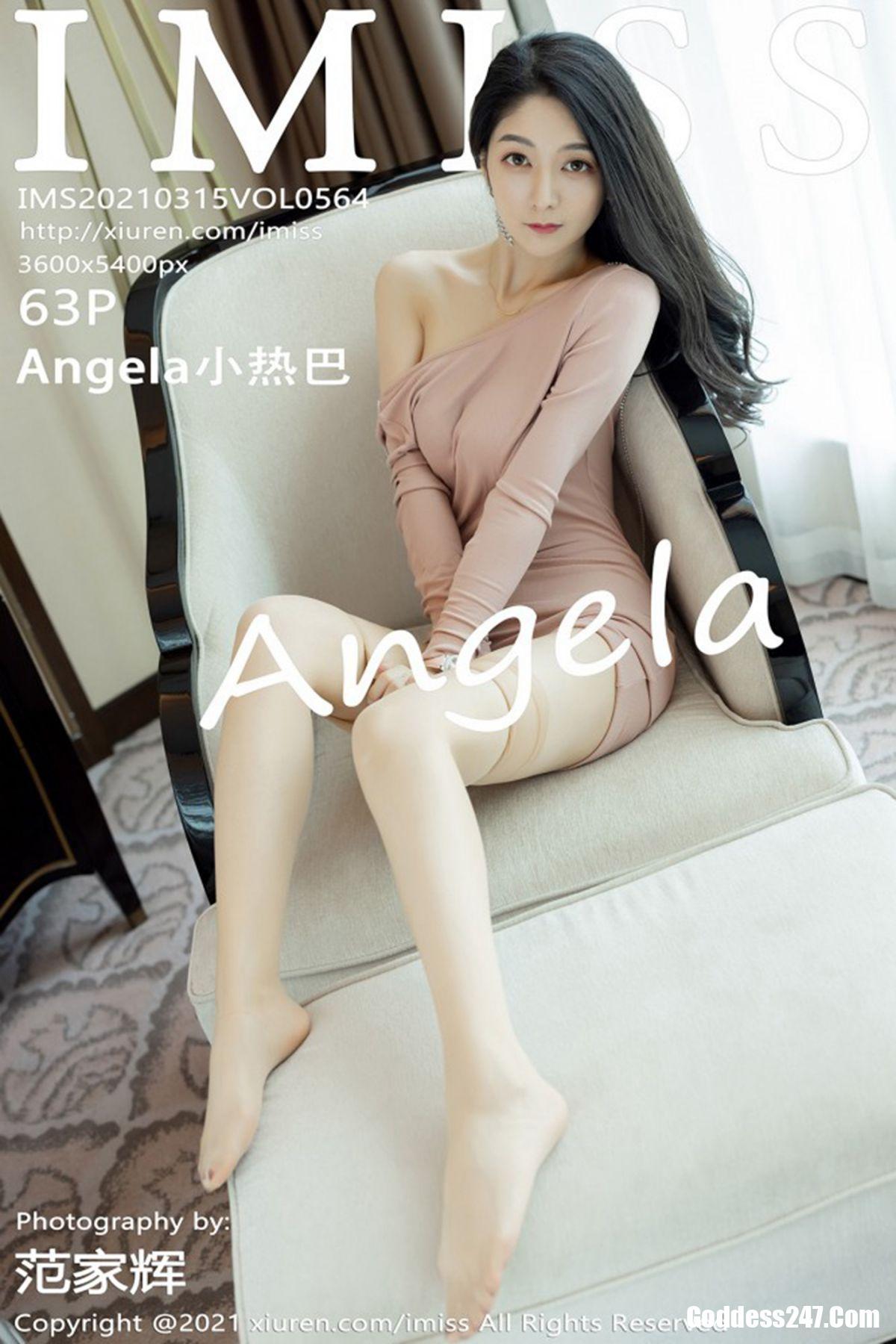IMiss爱蜜社 Vol.564 Angela小热巴
