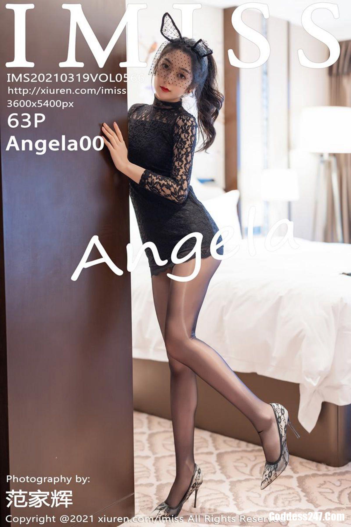 IMiss爱蜜社 Vol.566 Angela小热巴