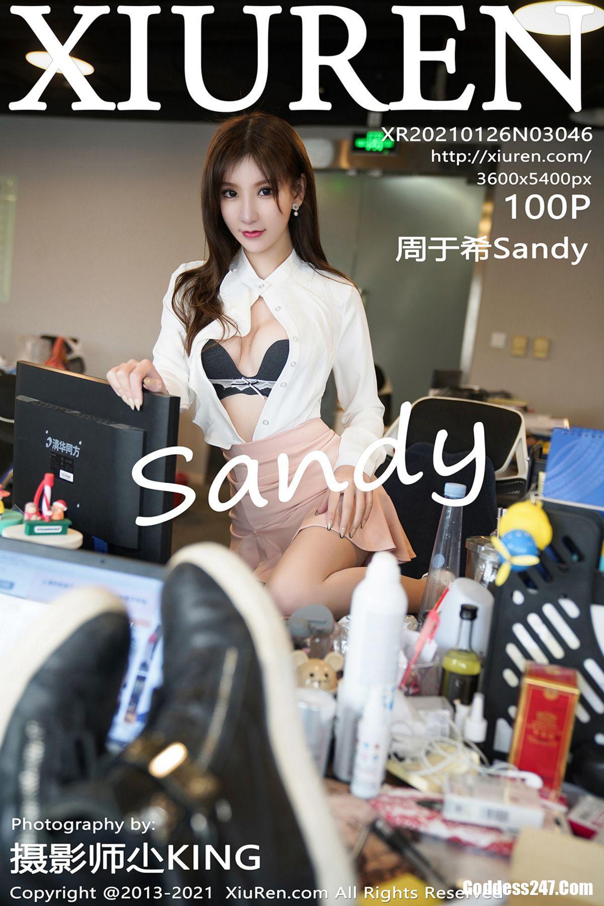 XiuRen秀人网 No.3046 周于希Sandy