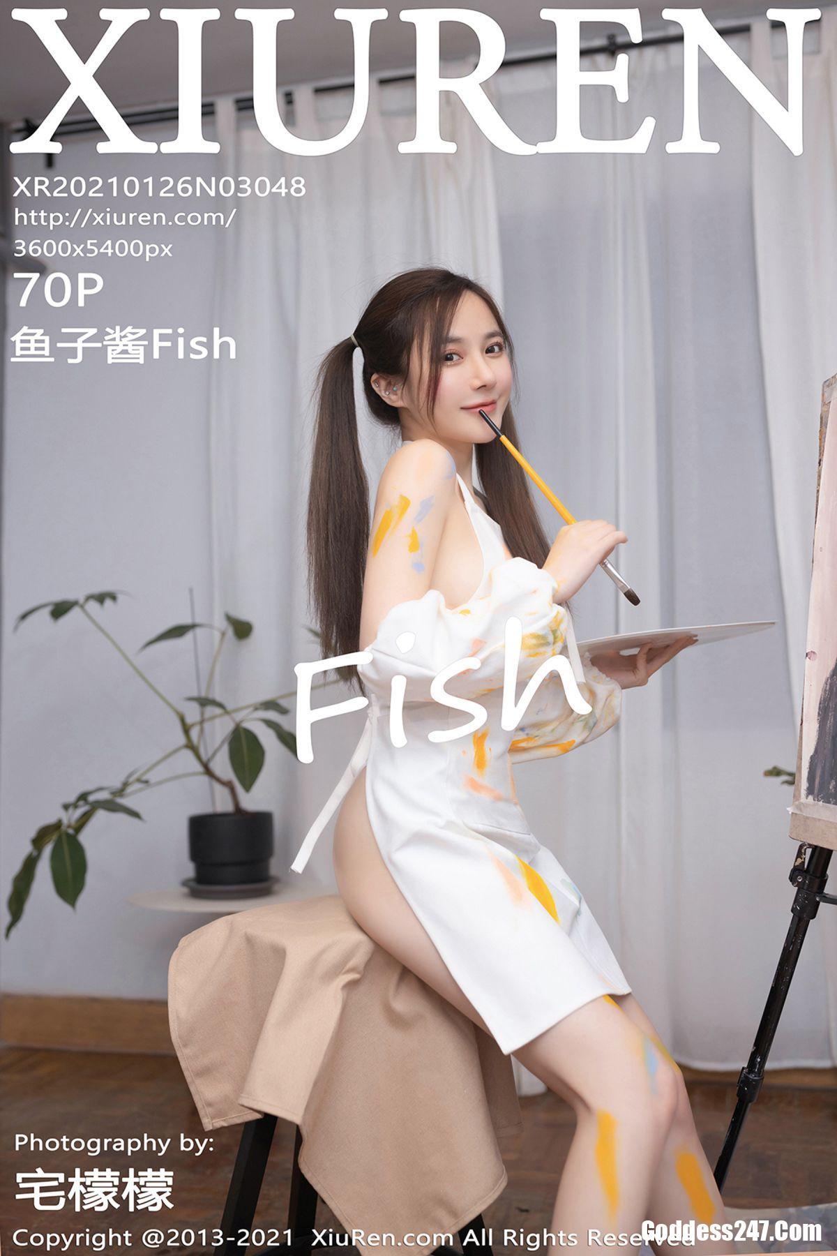 XiuRen秀人网 No.3048 鱼子酱Fish