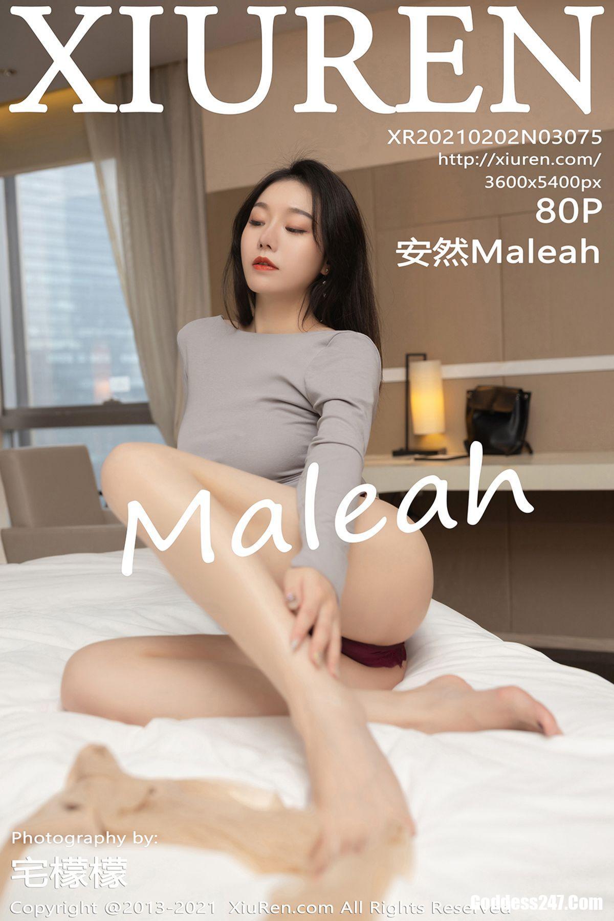 XiuRen秀人网 No.3075 安然Maleah