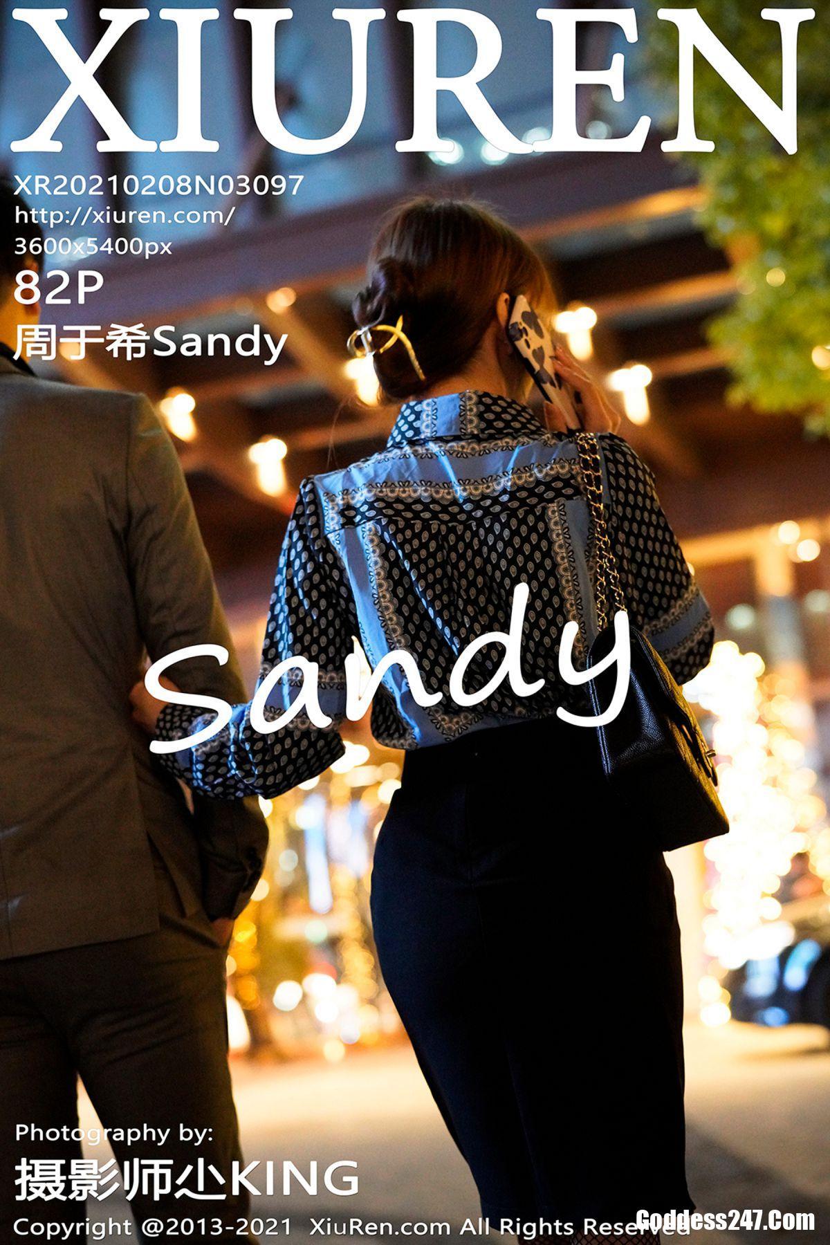 XiuRen秀人网 No.3097 周于希Sandy