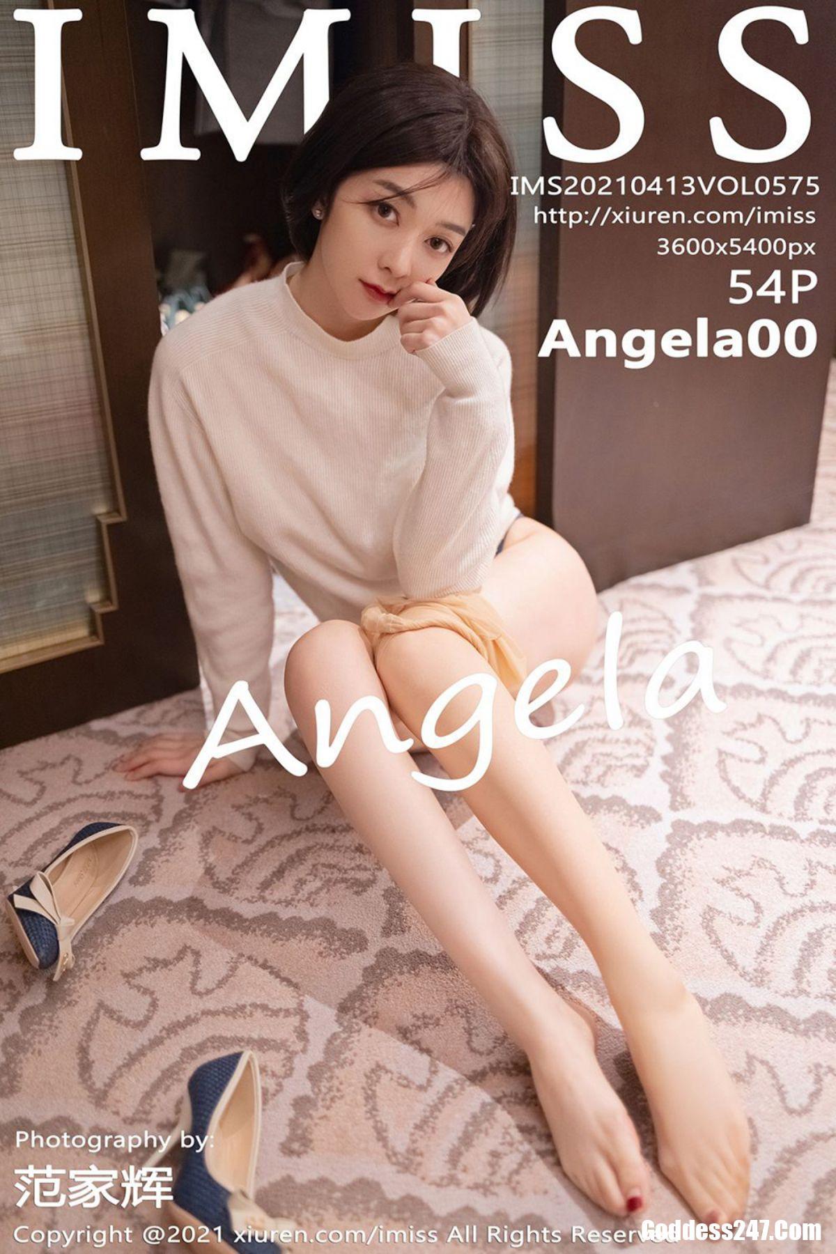 IMiss爱蜜社 Vol.575 Angela小热巴