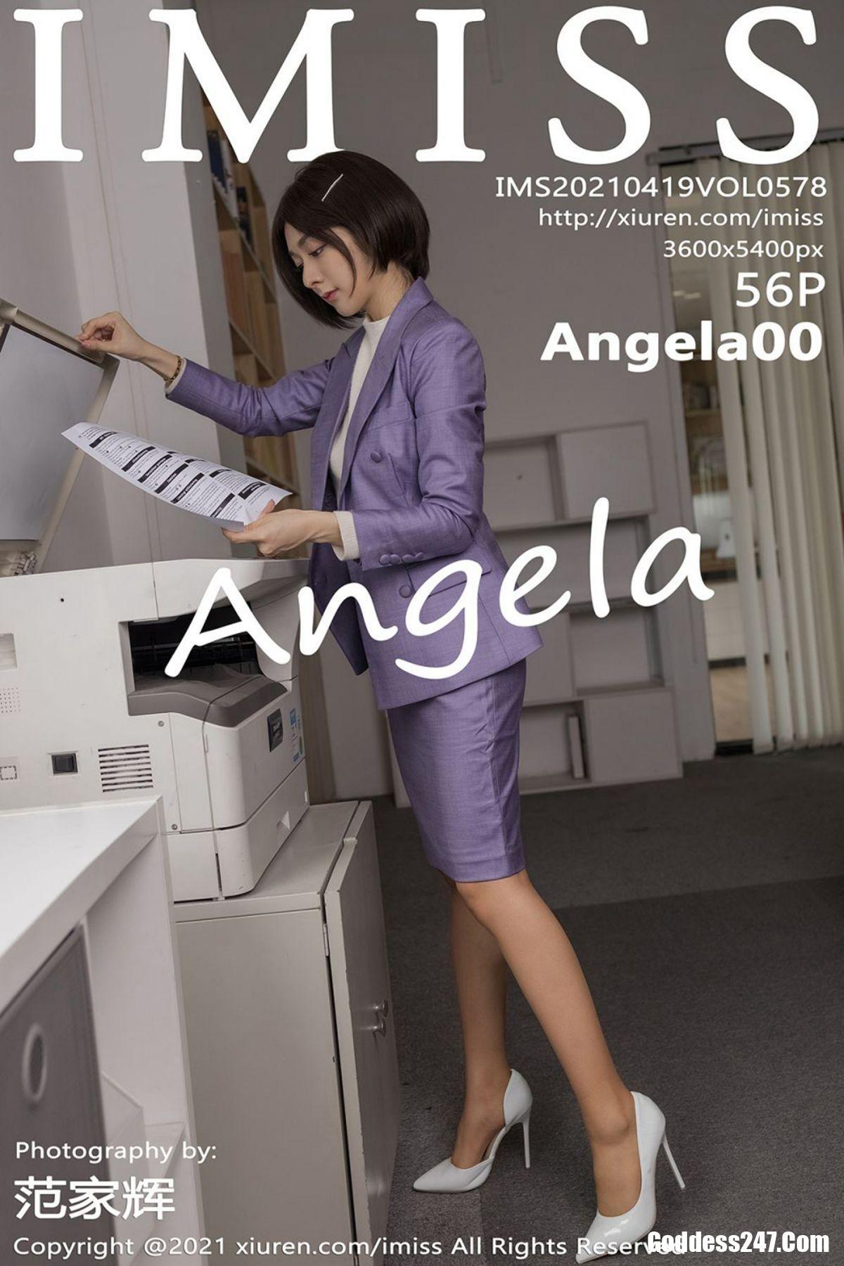 IMiss爱蜜社 Vol.578 Angela小热巴