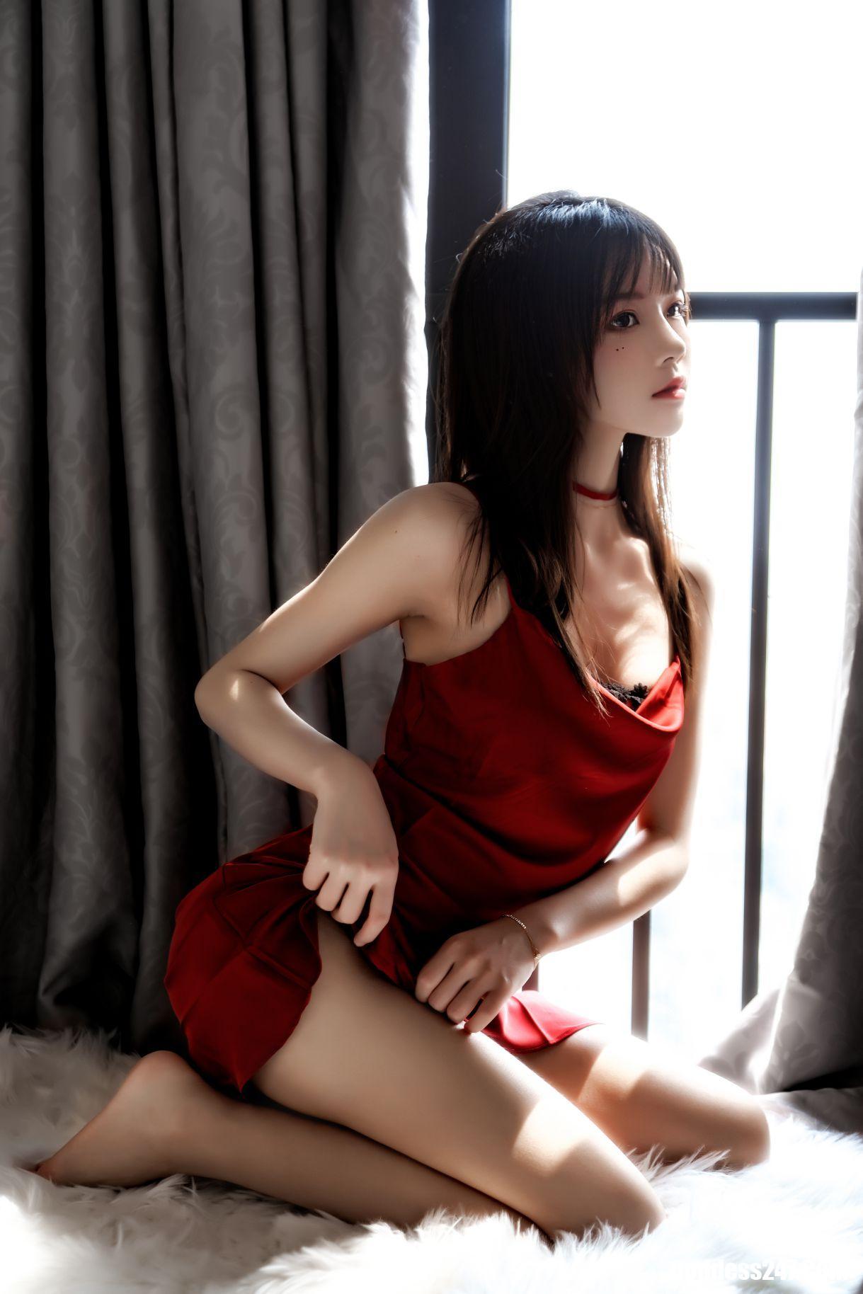 红01+02, 桜桃喵, Coser@桜桃喵 Vol.025 红01+02, Cherry Meow
