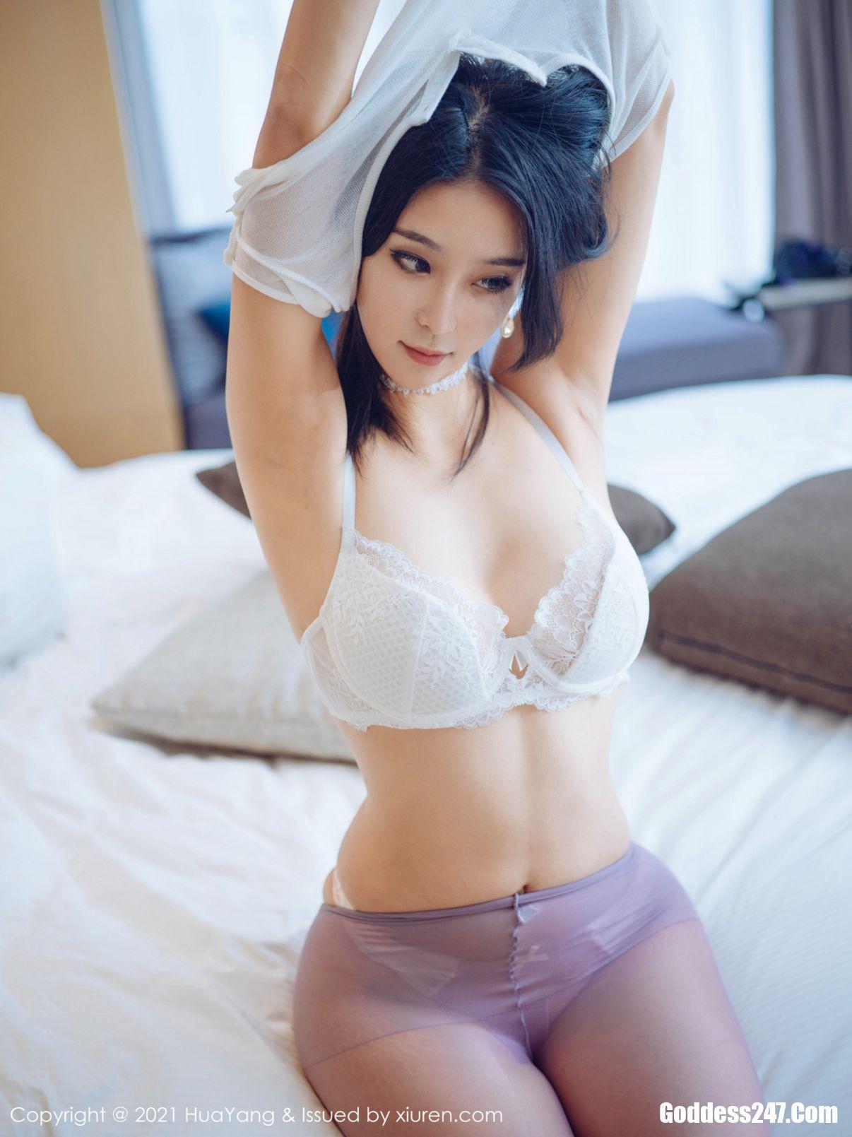 蓝夏Akasha, Liu Yi Lei, HuaYang花漾Show Vol.405 蓝夏Akasha, HuaYang花漾Show Vol.405